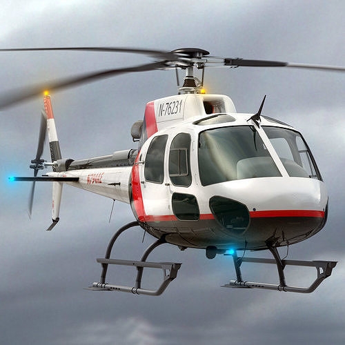 Eurocopter AS 350 Private