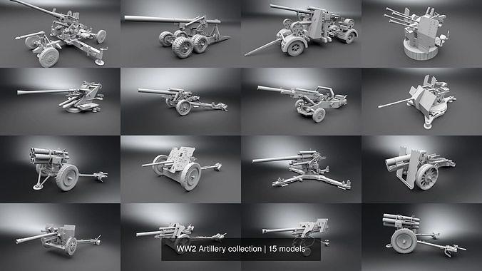 WW2 Artillery collection