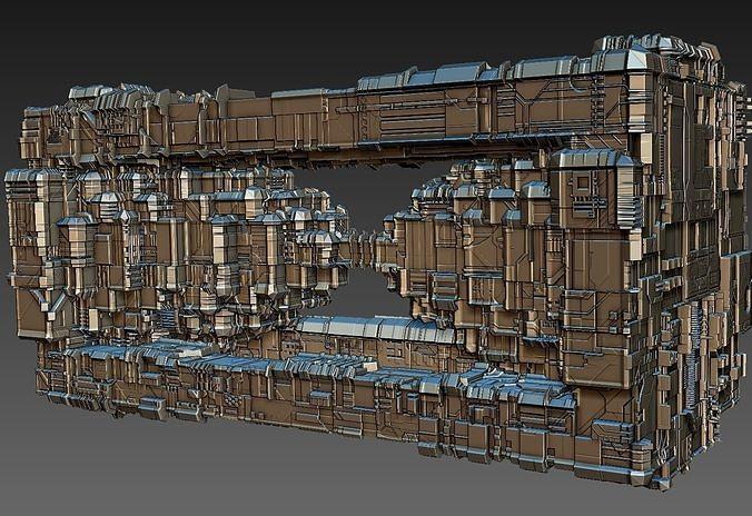 space equipment node 00018