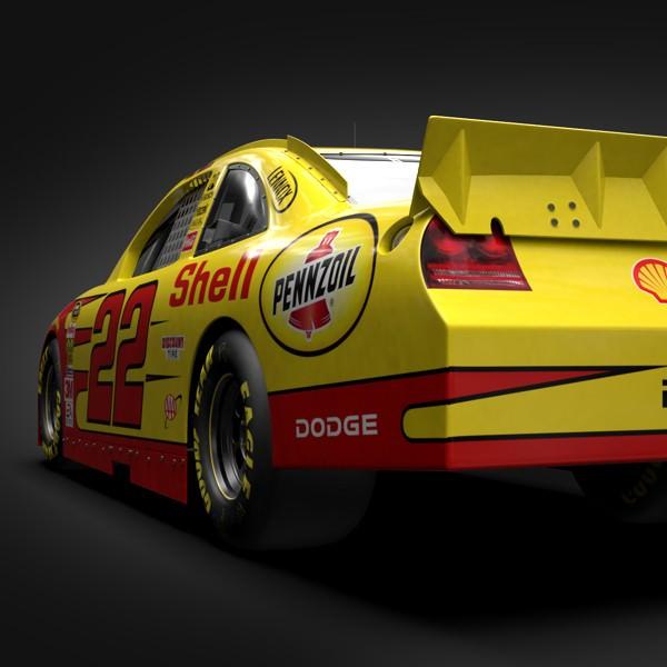 Penske Racing Team Cars 3D Model .max