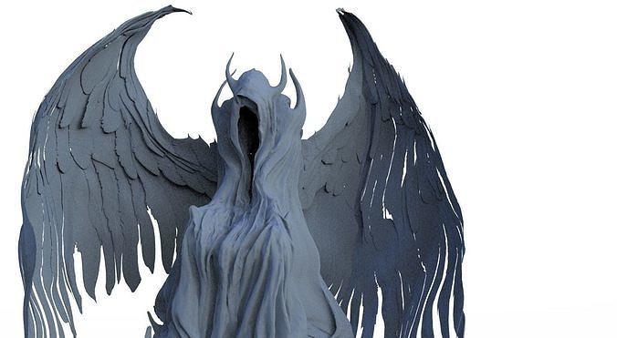 Fallen Angel hooded 2