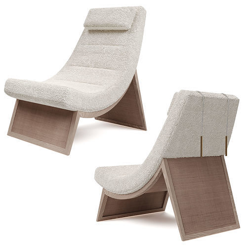 McGuire furniture Sway lounge chair