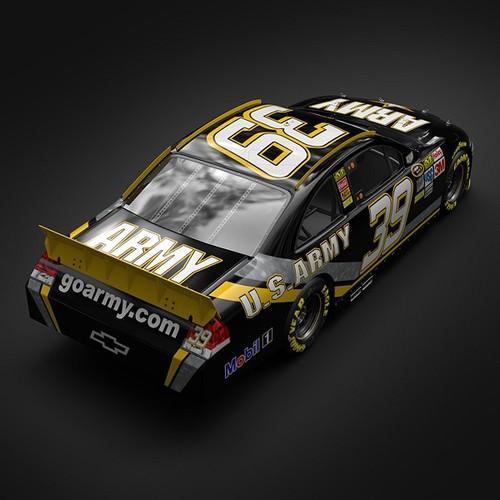 Ryan Newman Chevrolet Im... 3D Model