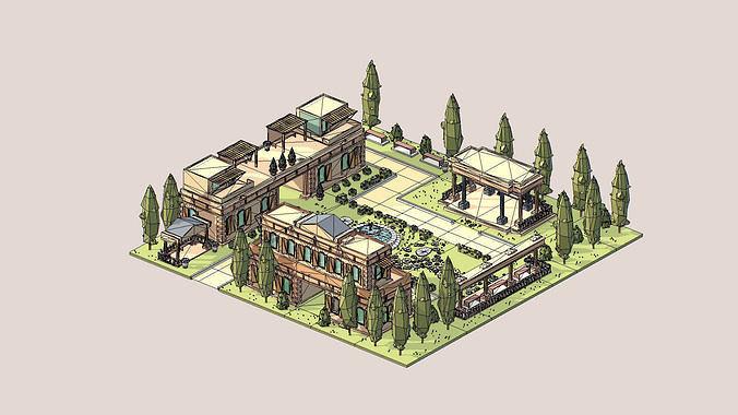 ethnic building  01