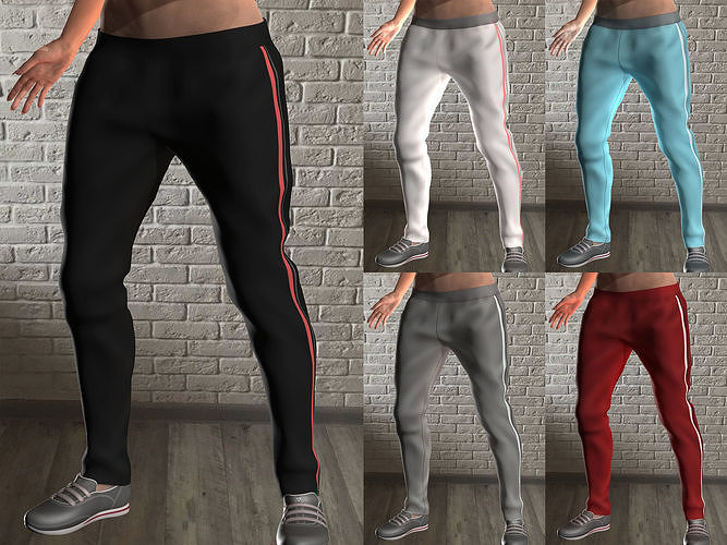 Girls sport pants - 5 colors