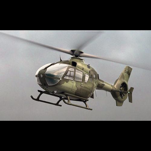 Eurocopter EC 135 Military Green