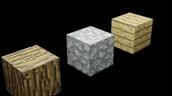 Minecraft blocks model