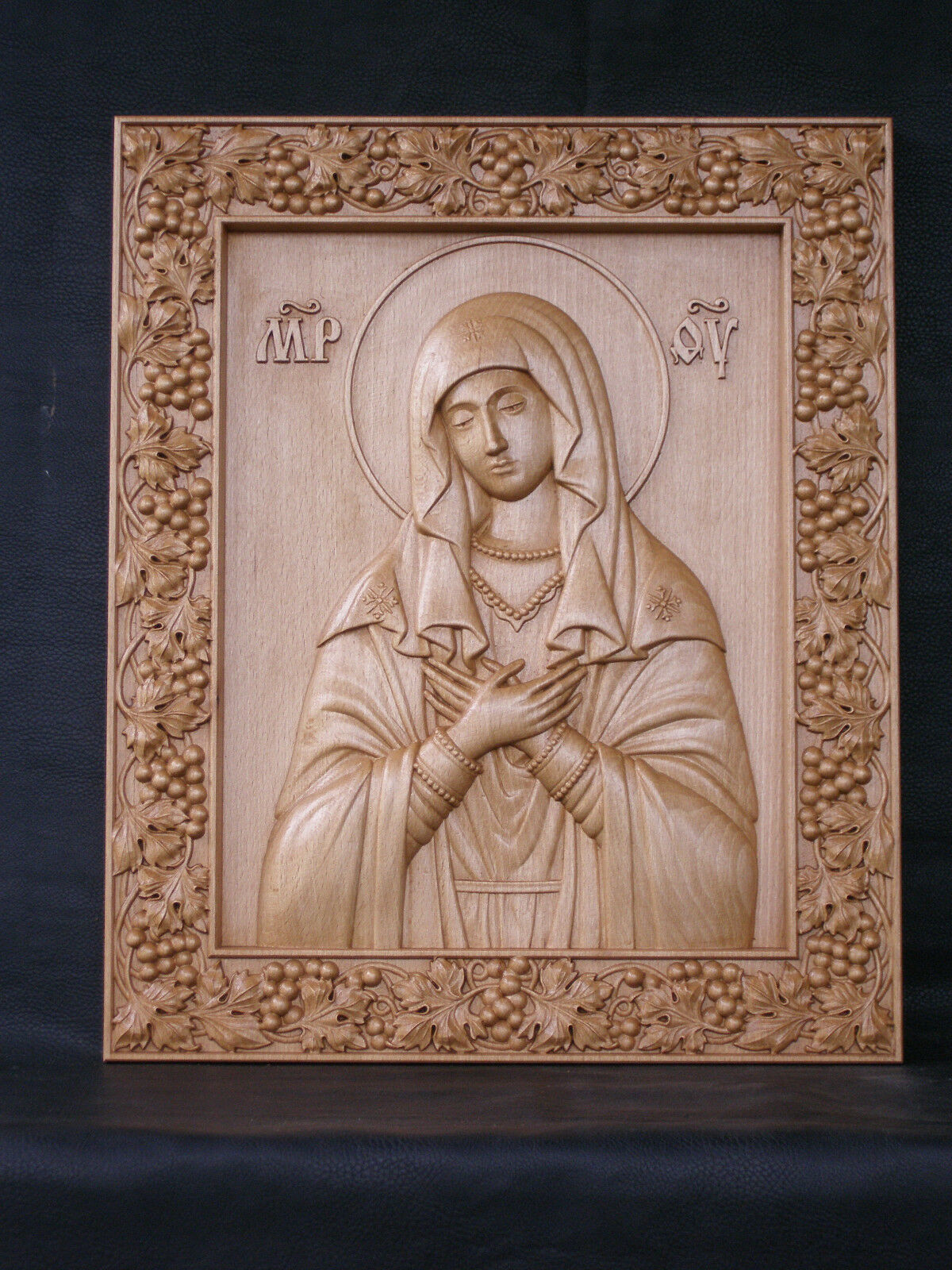 Icon of the Mother of God Tenderness 3d model STL format