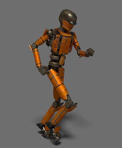 Animated robot