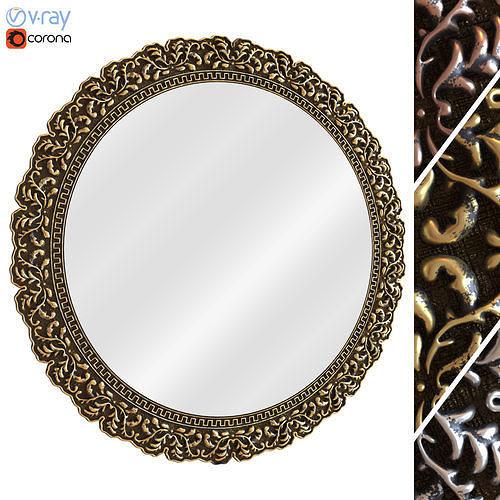 Ornamental Mirror 01