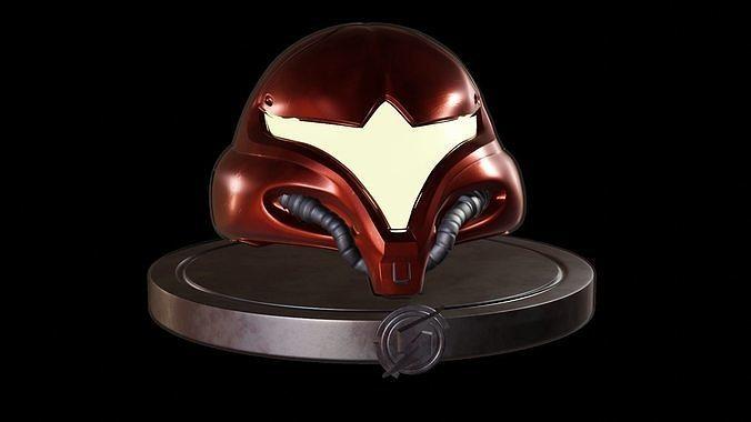 Metroid - Samus Aran helmet