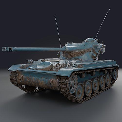 AMX-13 75 PBR Model