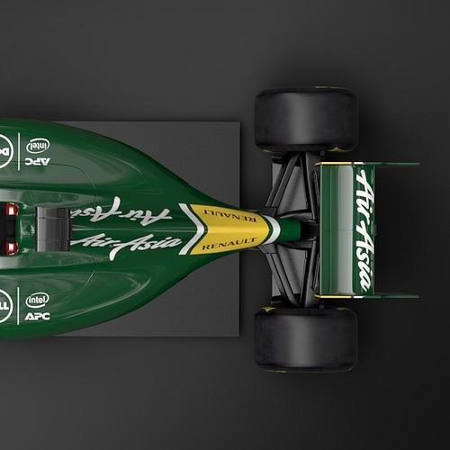 Caterham F1 Team 3D Model .max