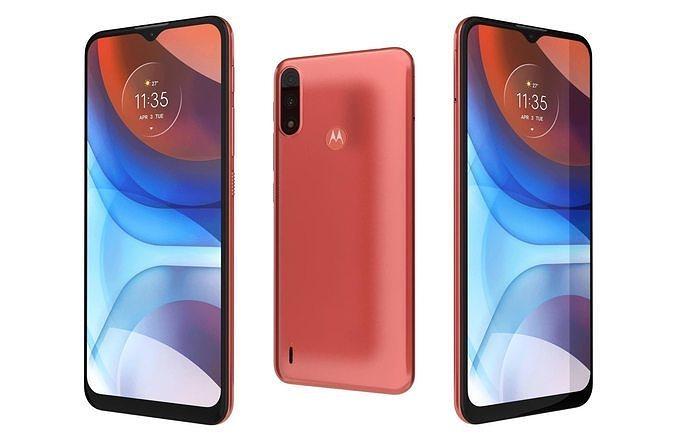 Motorola Moto E7i Power Coral Red
