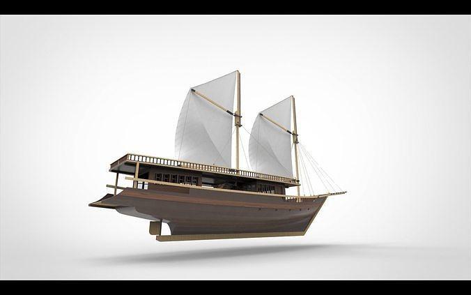 Pinishi Sail Ship