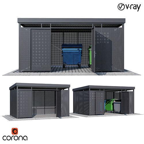 Modular boxes round perforation set