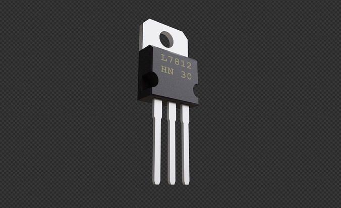Transistor 7812 - Electronic parts