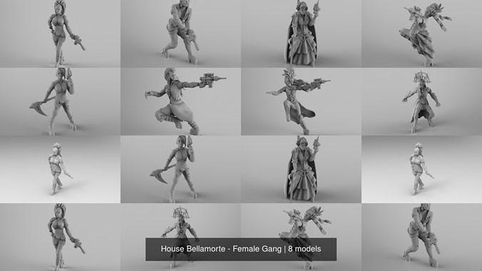 House Bellamorte - Female Gang