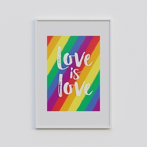 Love is Love Frame
