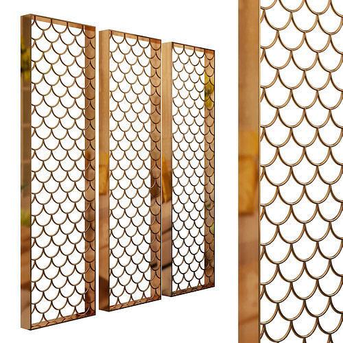 Decorative partition set 94