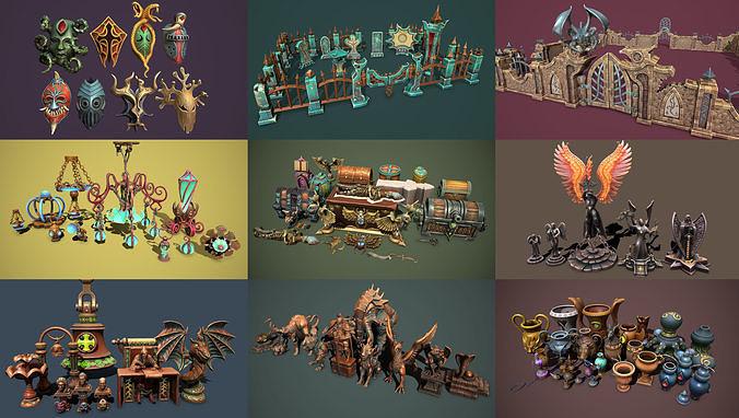 Fantasy bundle by Haridon