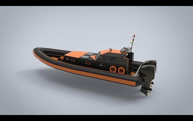 Offshore patrol boat