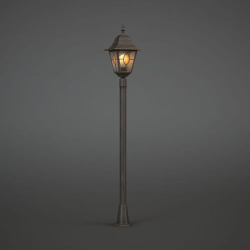 Wall Lamps 3d Model Free : Vintage Street Light Lantern 3D Model - CGTrader.com