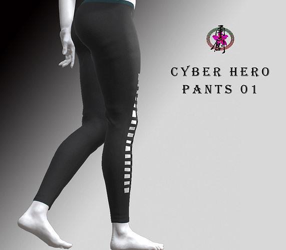 Cyber Hero - Pants 01