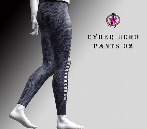 Cyber Hero - Pants02