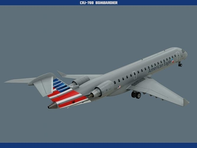 CRJ700 American Eagle