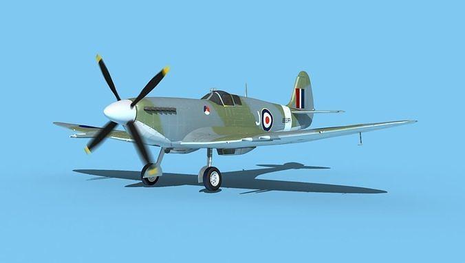 Supermarine Spitfire MK XII V02