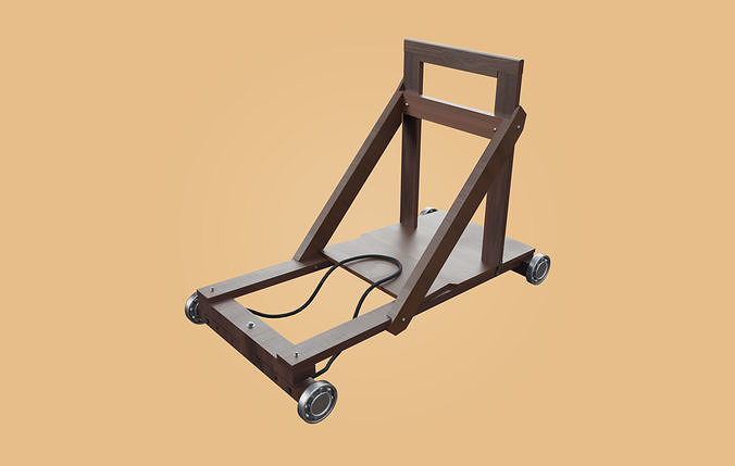 Trolley-cart with ball bearings