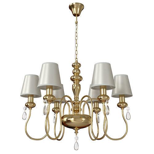 Hanging chandelier Meki 4723-6