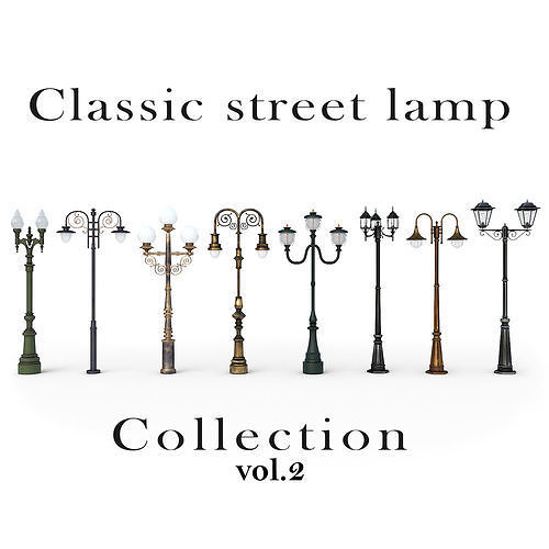 Classic street lamp Collection Vol 2