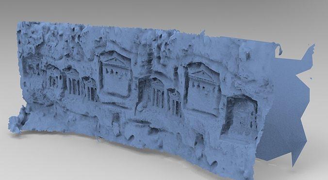 Greek Cave wall