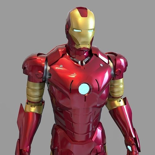 Iron Man Mark 3 Full Wearable Accurate Armor with Inner Parts
