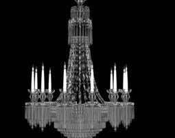3d regency style chandelier made in england