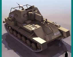 SU-76M TANK 3D Model