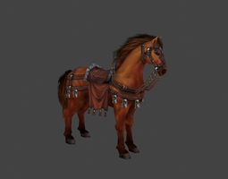 3D model realtime Horse