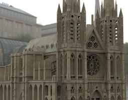 3D Clermont Cathedral