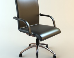 3D Office Armchair 3