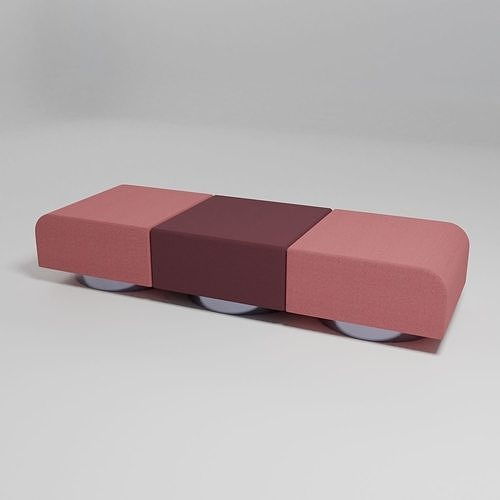 ROLL - Sofa without backrest -