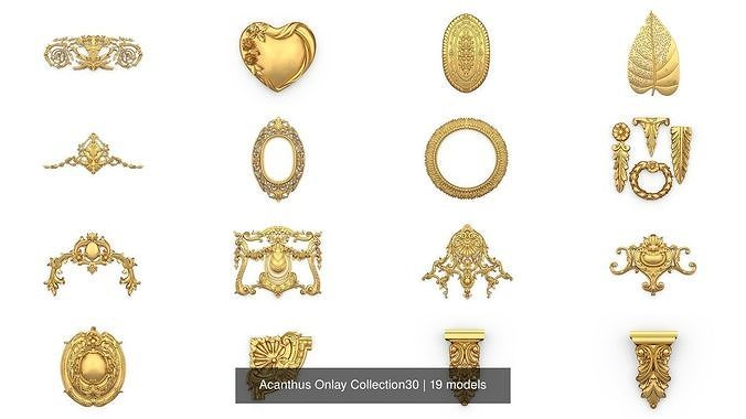 Acanthus Onlay Collection30