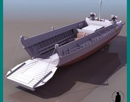 LCVP BOAT 3D Model