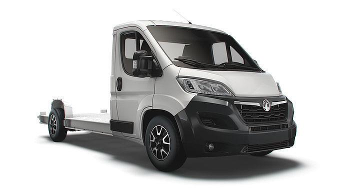 Vauxhall Movano 3540 L4 platform cab 2022