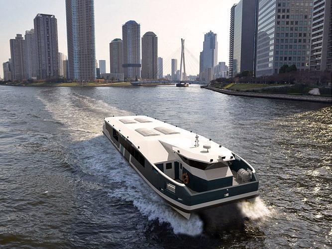 Concept Catamaran Ferry Boat
