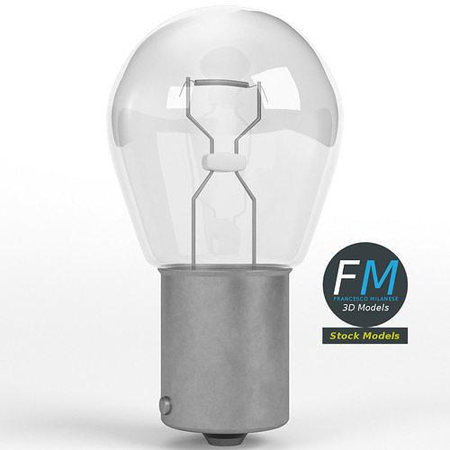 12V incandescent car light