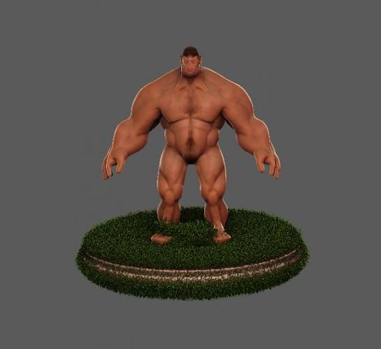 Hulk Hero3D model