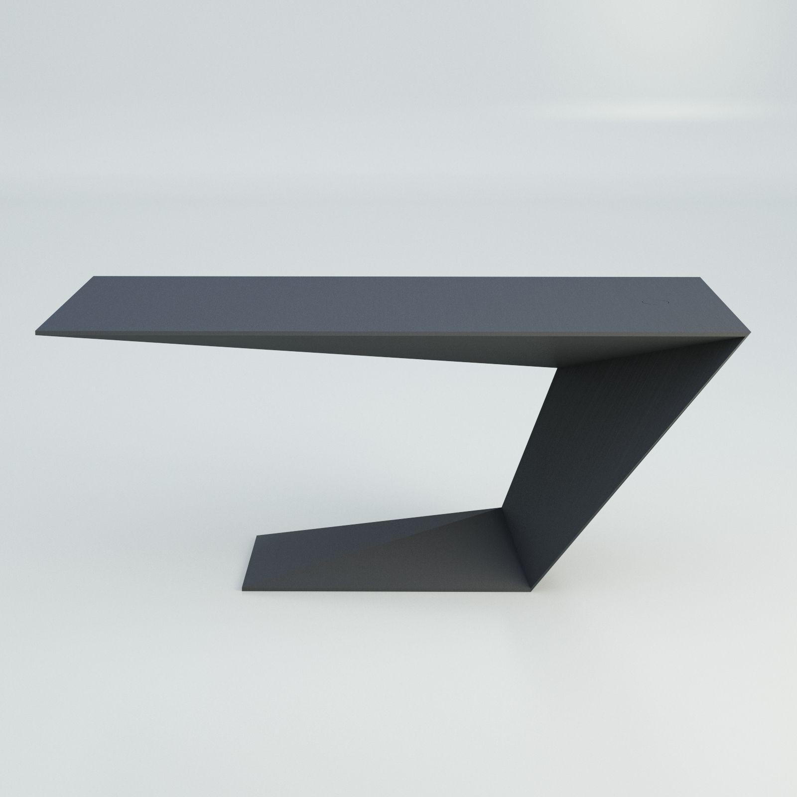 Furtif Desk Modern Table Roche Bobois 3D model CGTrader