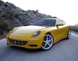Ferrari 612 Scaglietti 3D Model